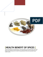 Spice Benifts