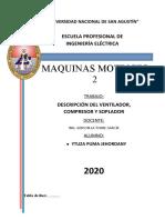 DESCRIPCIÓN DEL VENTILADOR, COMPRESOR Y SOPLADOR ytuza puma