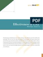 Wp Effectiveness of Uat