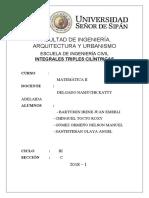 MATEMÁTICA II INTEGRALES TRIPLES