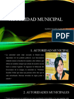 AUTORIDAD MUNICIPAL