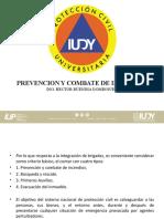 PREVENCION Y COMBATE DE INCENDIOS