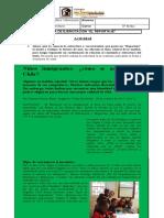 2º Medio - Lenguaje - Ficha Reportaje - Clase nº 5 - Unidad 1