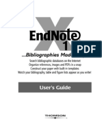 EndNote Manual