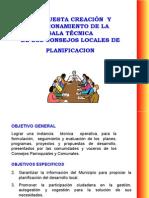 Propuesta para creación de la Sala tecnica