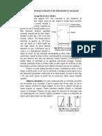 Curs 6. Cromatografia in strat subtire