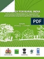 Bioenergy for Rural Bharath