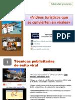 Vídeos turísticos que se convierten en virales