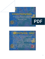 Scenario Planning Basics by University of Wisconsin Cooperative
