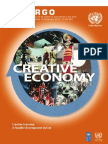 Creative Industry by UNCTAD 2010