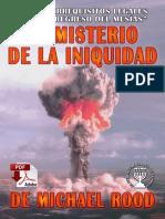 EL MISTERIO DE LA INIQUIDAD ESCRITO POR MICHAEL JOHN ROOD LOS REQUISITOS LEGALES PARA EL REGRESO DEL MESÍAS PDF.pdf