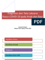 Diagnosis dan Tata Laksana Kasus COVID-19 pada Anak dan Bayi