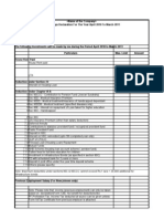 Tax Saving Declaration Format