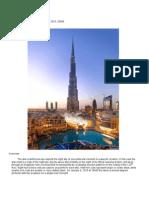 Horoscope for Burj Khalifa Abstract Email