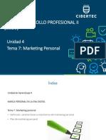 PPT Unidad 04 Tema 07 2020 06 Desarrollo Profesional II (2253).pdf