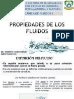 CLASE 2 PROPIEDADES DE LOS FLUIDOS