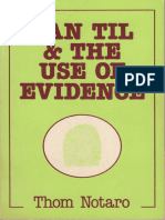 Van Til & The Use of Evidence by Thom Notaro.pdf