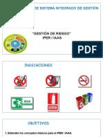 2. Gestión de Riesgo - IPER . IAAS