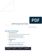 Project -1 (Cold Storage Case Study)