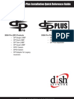 DISH Pro-DISH Pro Plus Installation Quick Reference Guide