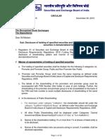 13. SEBI Circular- Disclosure of holding securities demat_30112015