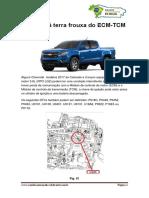 Conexão à terra frouxa do ECM-TCM