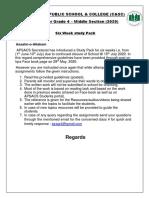 Grade 4 Study Pack 1 (1)