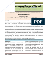 Formulation and Evaluation of Anisomeles Malabarica Panchang Kshara