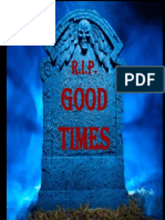 2009 Financial Crisis - Sequoia RIP Good Times