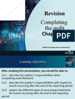 Completing the Audit Revision Audio