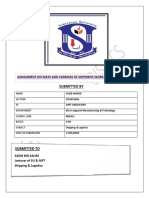 shipping  & Logistics Assignment SAZIB AHMED@AMT