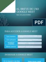 MANUAL BREVE DE USO DE GOOGLE MEET.pptx