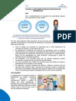 Orientaciones Para La Implementación de Proyectos de Aprendizaje Ccesa007