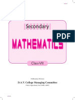 secondary mathematics 7.