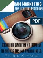 Instagram Marketing in 30 Minuten – Mehr Reichweite, mehr Bekanntheit, mehr Follower. Erfolgreiches Marketing mit Instagram für Business, Personal Bra_nodrm.pdf