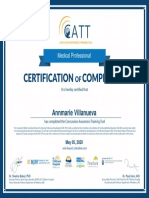 annmarie villanueva medical professional course certificate of completion may 05 2020