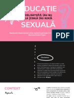 Educație Sexuală Obligatorie În Școli - Chestionar