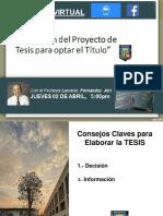 Elaboracion PROYECTO DE TESIS 2020
