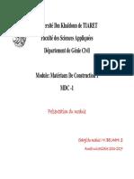 présentation du module MDC