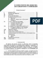 La Costumbre Como Fuente Del Derecho_ Sistema Juridico Argentino.pdf