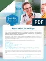 Folleto BONO COSTO CERO JULIO 2018