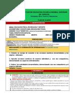 PLAN DE CLASES GUIA - PRE ESCOLAR