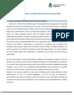 La organización del tiempo y el desarrollo de las tareas de gestión.docx