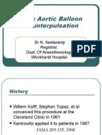 Intra Aortic Balloon Counterpulsation
