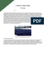 Capteur-solaire-plan