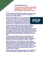 LIMPEZA DE MEMÓRIAS DO DNA