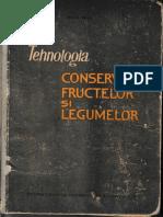 Tehnologia conservarii fructelor si legumelor_cuprins