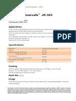 Guarsafe JK-303 - Hydroxypropyl Guar