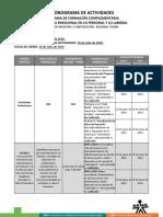 Cronograma de Actividades_CEICO 2019 Guía V3 INTELIGENCIA EMOCIONAL.pdf