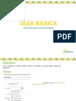 Guía de Paqueteria